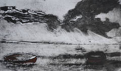 Mounts Bay, Cornwall England, Monochrome