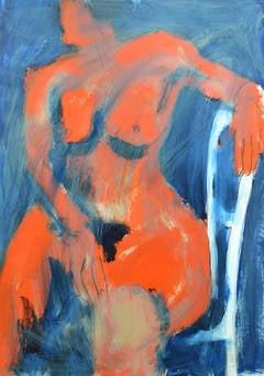 Neon & Blue Nude