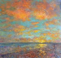 Long Rock Beach, Sunset
