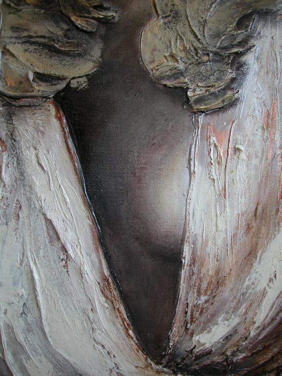 Justice III - Painting by Guusje Bertholet