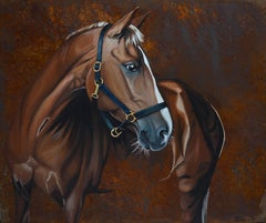 Horse, On Rusted Steel