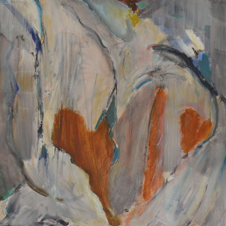 Untitled (Hearts): Mixed Media Contemporary Painting by Peter Rossiter