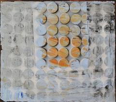 Blue Shift: Mixed Media Contemporary Painting by Peter Rossiter