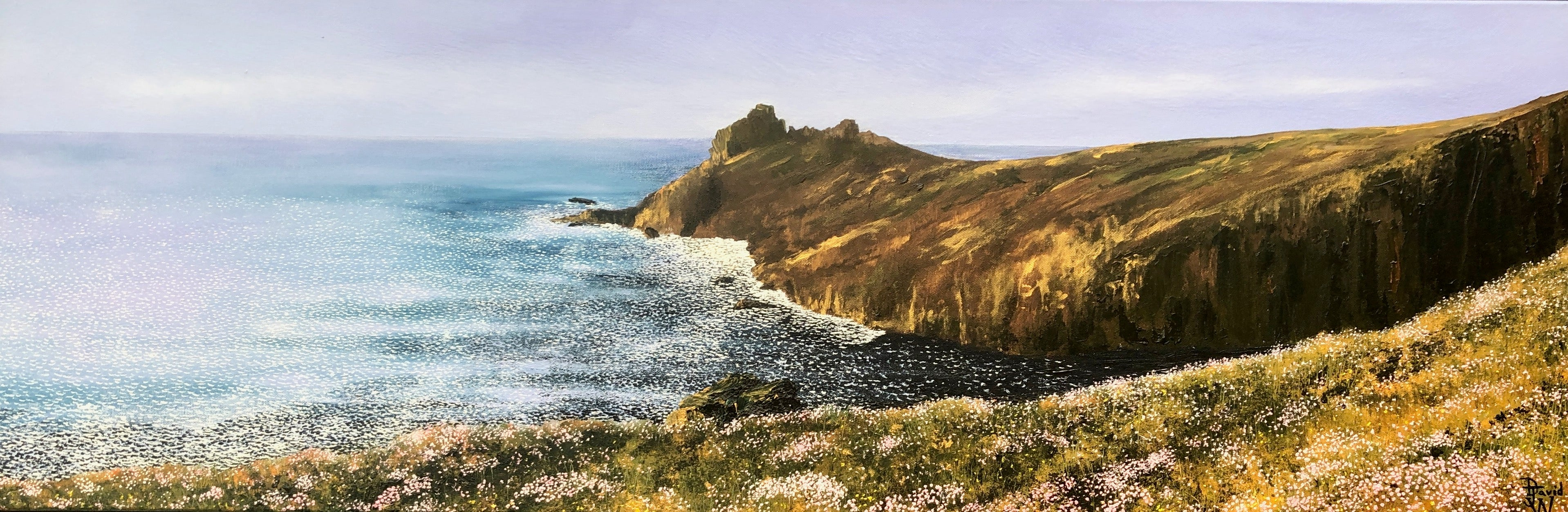 The Gurnards Head. Contemporary Landscape Oil Painting
