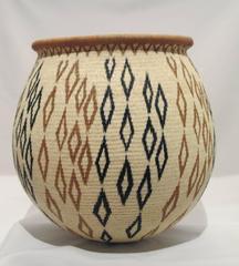Rainforest Basket by Miriam Cansare