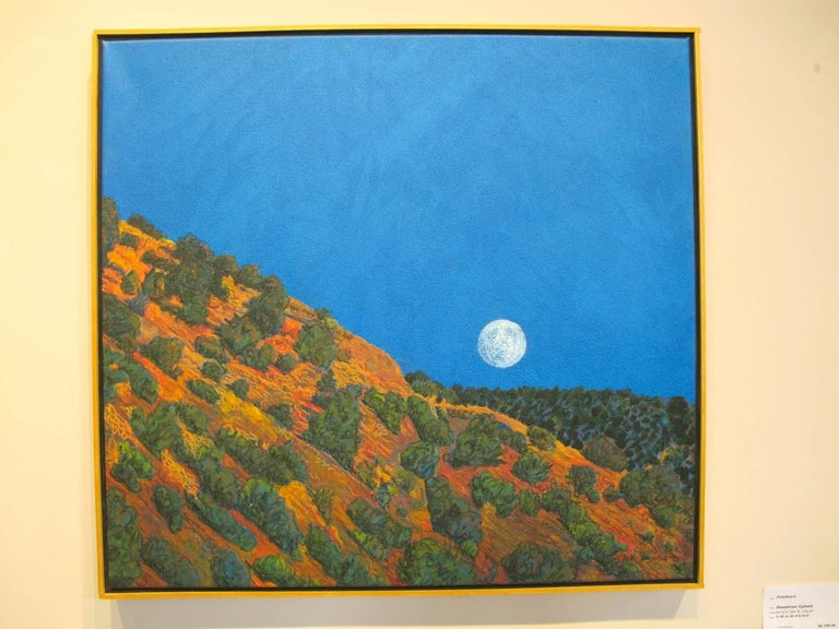 John Hogan Landscape Painting - Ghost Moon Rising