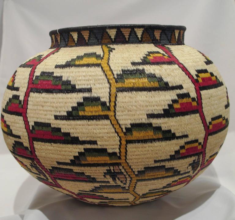 Rainforest Basket Wounaan Tribe