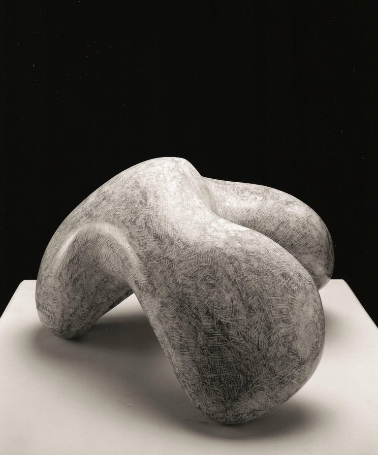 Abstract Image, unique, stone, Apache - Sculpture by Allan Houser (Haozous)
