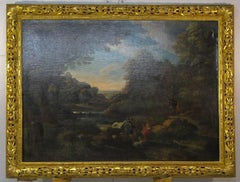 Roman Countryside, old master, landscape, gold frame