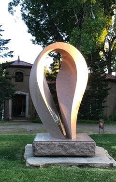 Untitled, monumental contemporary granite sculpture by Khang Pham-New