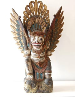 Barong Wood Sculpture Bali 19Th Century