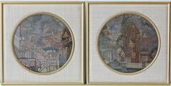 Pair of 19th Century Thai Paintings