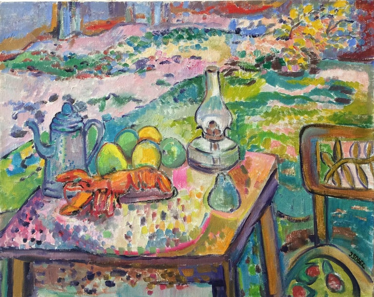 Still Life With Fruit and Lobster 1