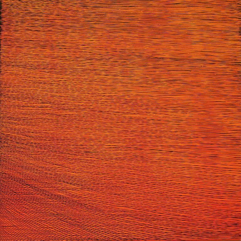 Agata Koczan Abstract Painting - Interference IV