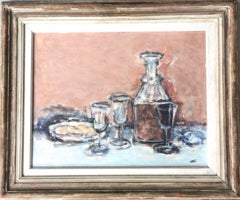 Sherry and Biscuit Mid Century Modern Still Life