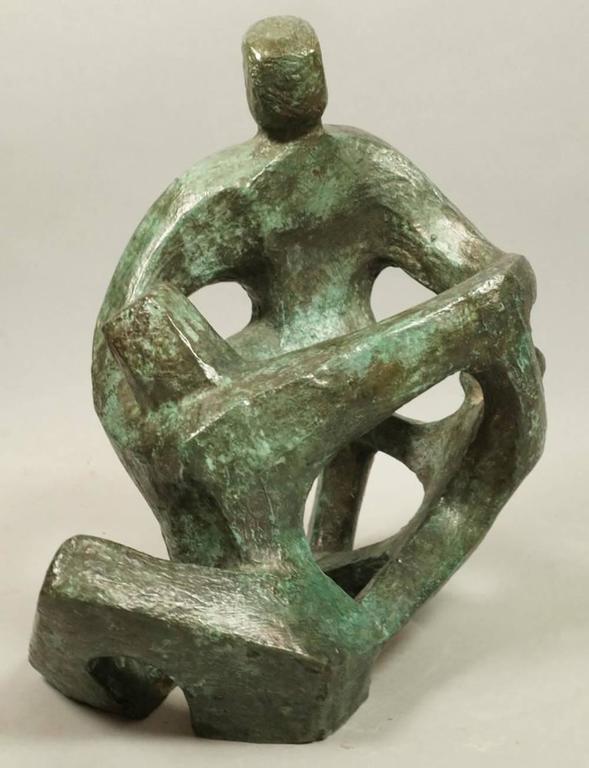 Irma Suzanne Barnes Figurative Sculpture - Couple