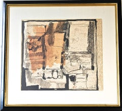 Abstract Composition Lithograph 9/15