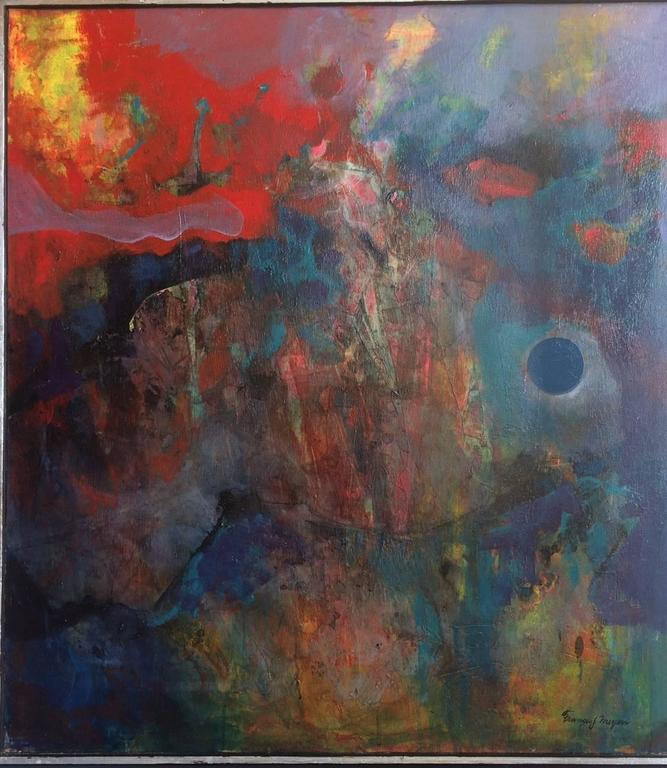 Francis J. Meyers Abstract Painting - Homage To Beethoven