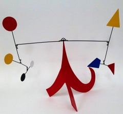 Red Circus Stabile Sculpture