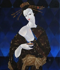 Yome Toome Oriental Woman with Candle
