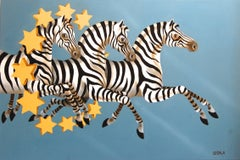 Stars and Stripes Zebras