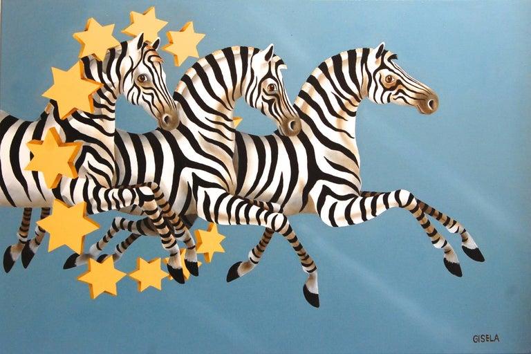 Stars and Stripes Zebras