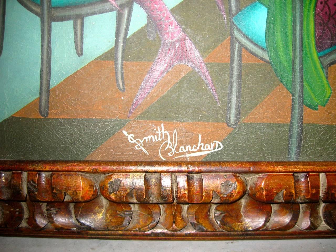 Surrealist Restaurant Scene with Mermades and Mermen 4