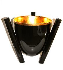 Bowl Black and Gold
