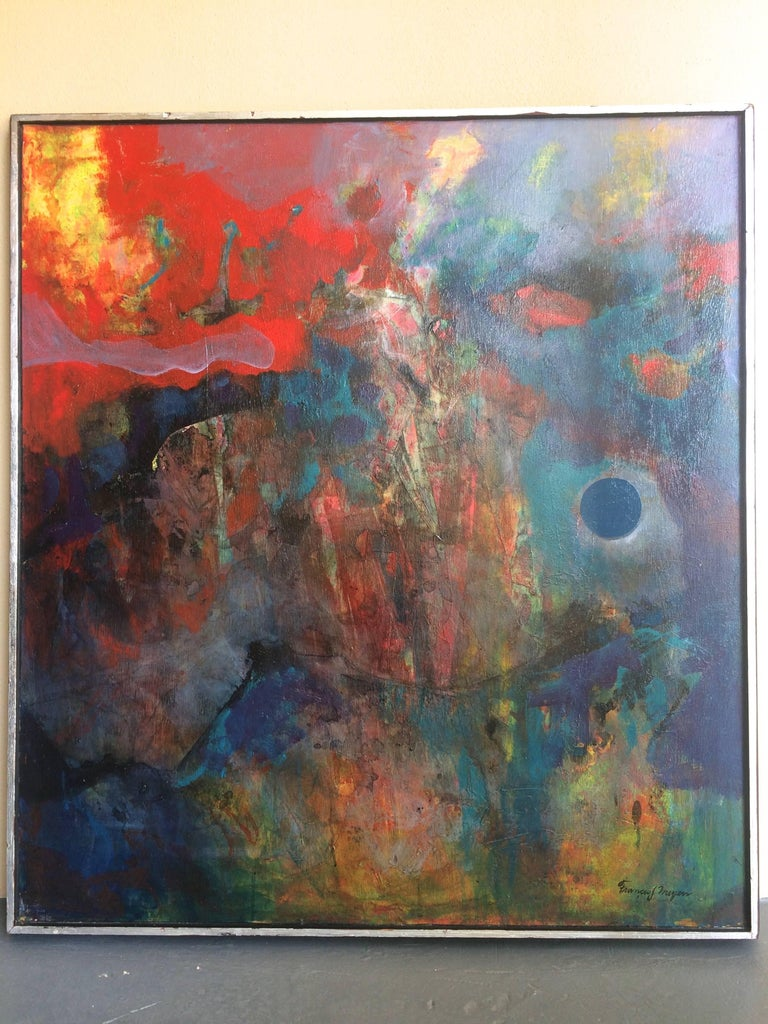 Homage To Beethoven - Painting by Francis J. Meyers