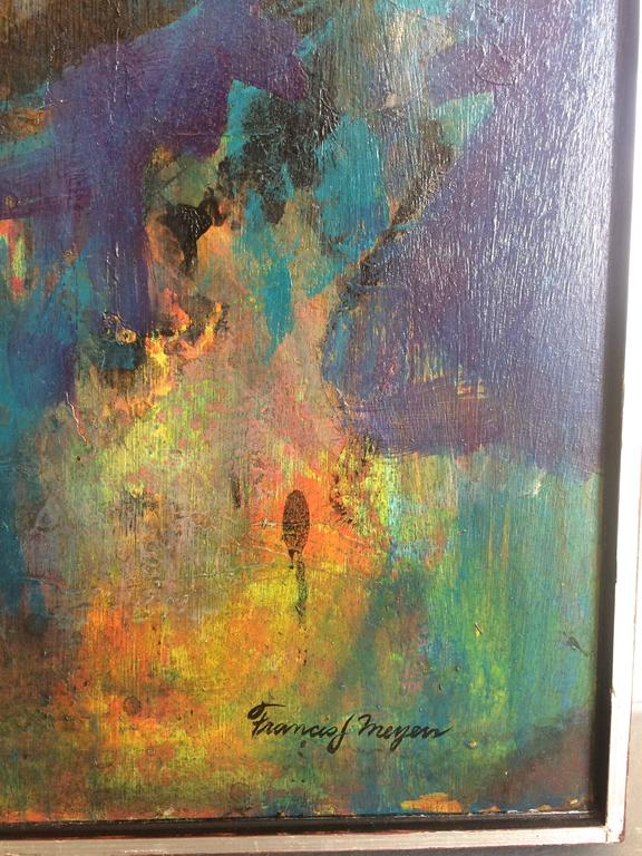Homage To Beethoven - Abstract Expressionist Painting by Francis J. Meyers