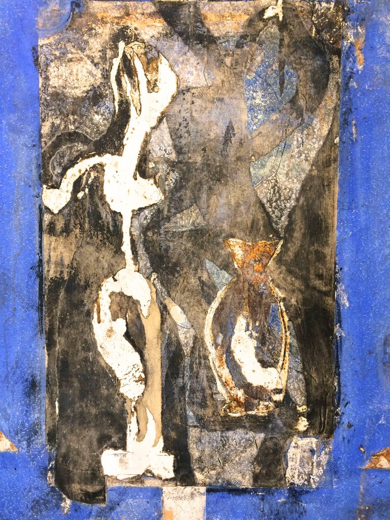 Jardine Secret  - Contemporary Painting by Pierre Marie Brisson