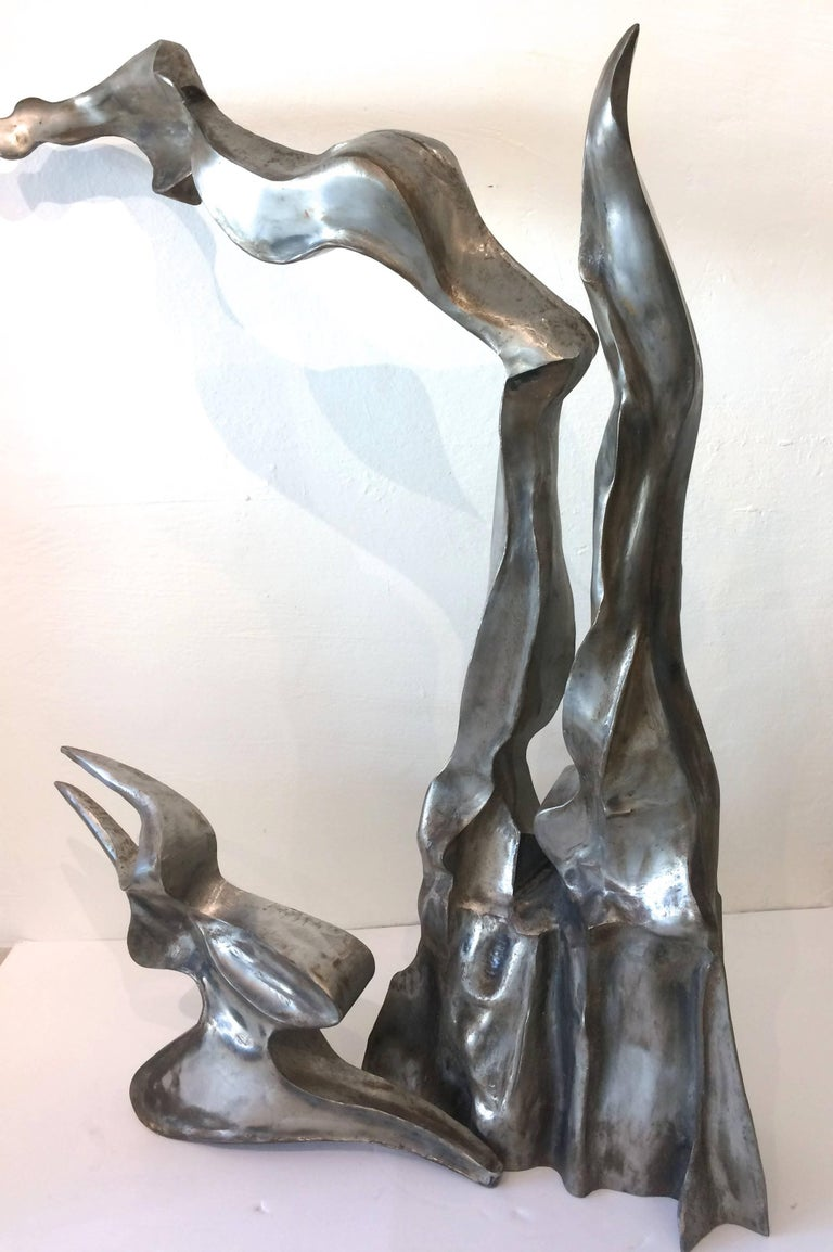 Bill Wilson Abstract Sculpture Stainless Steel