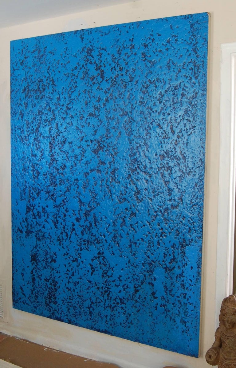 John Frates Blue Infinity Large Abstract Painting For