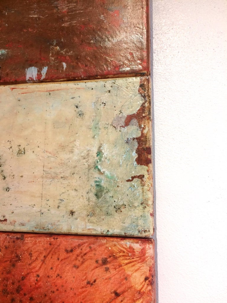 Scavi XLI Triptych Abstract For Sale 1