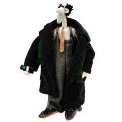 Businessman III Handmade Doll 1990