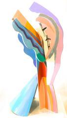 Calman Shemi - Abstract Form Sculpture