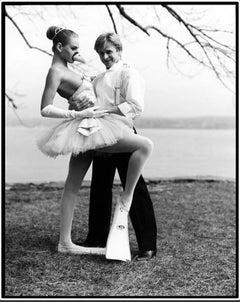 Baryshnikov with Uma Thurman - Swan Prince