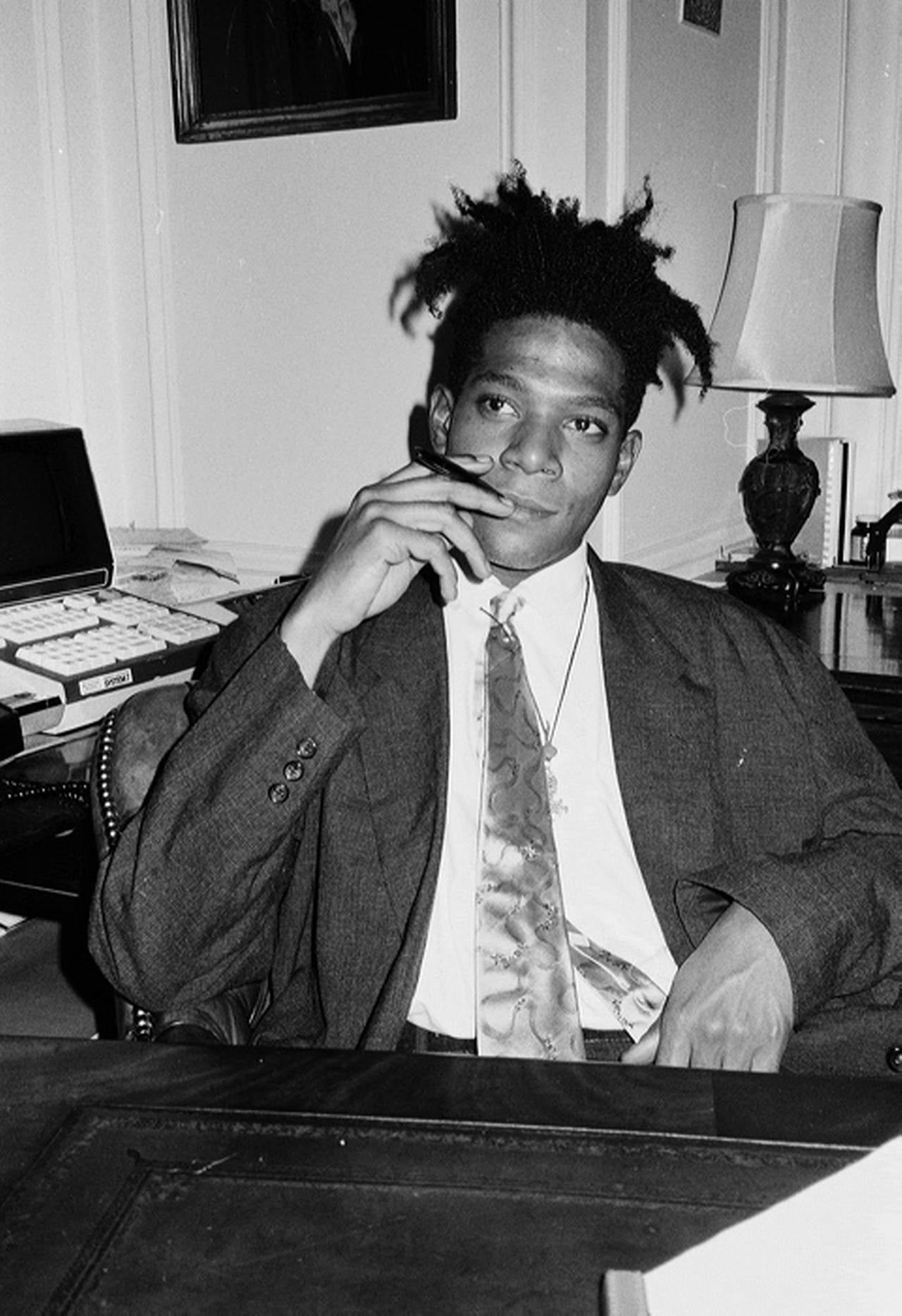 Roxanne Lowit, <i>Jean-Michel Basquiat II</i>, 20th century, offered by Preiss Fine Arts Photographers Limited Editions