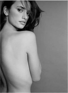 Penelope Cruz - nude portrait of the film star and model