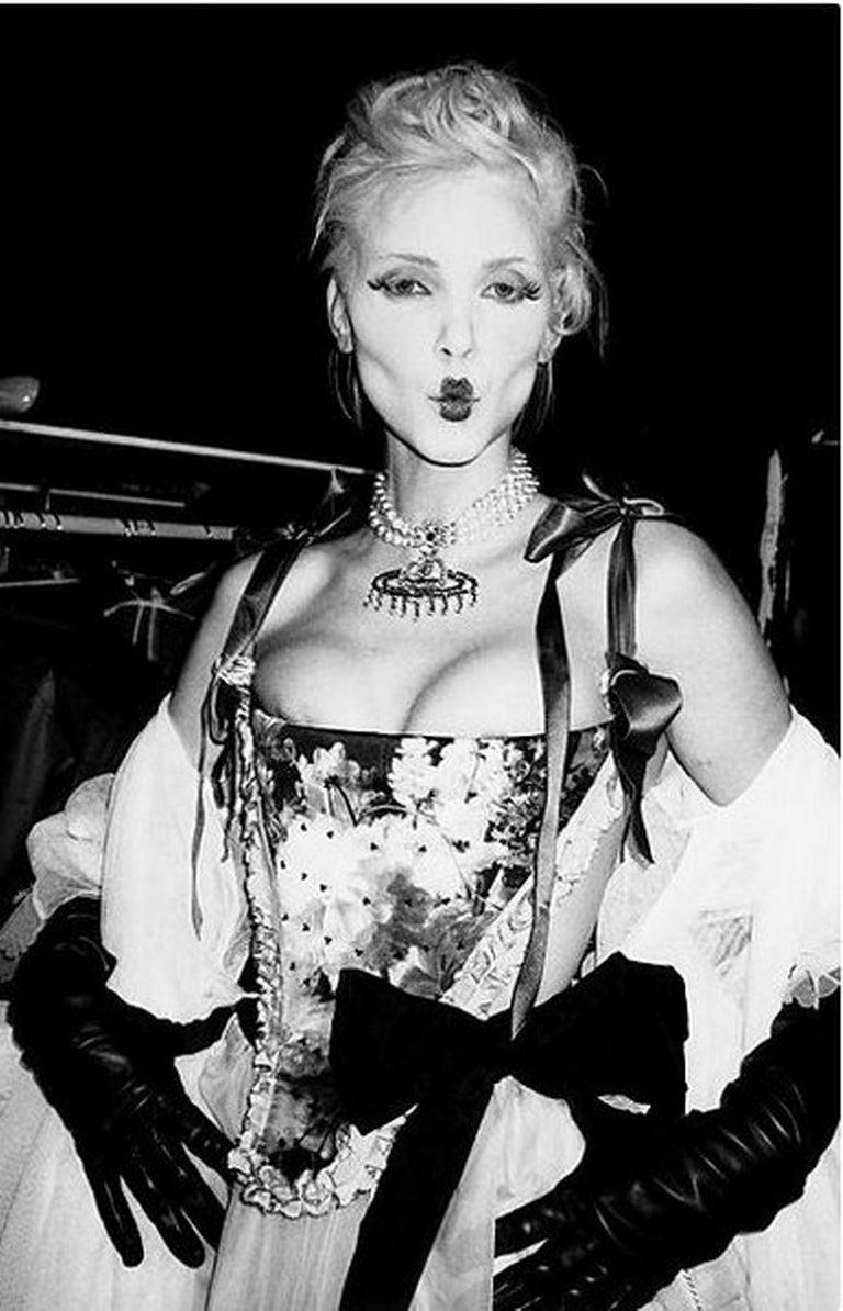 Roxanne Lowit Black and White Photograph - Vivienne Westwood Show, Paris