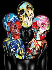 Painted Skulls Eyes open