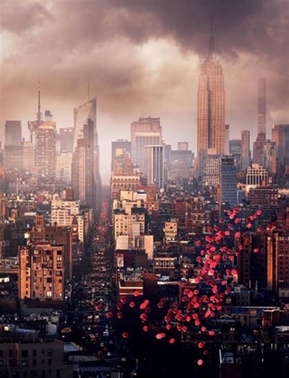 David Drebin - Balloons over New York 1