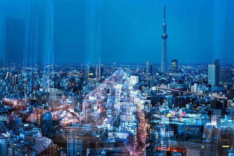 David Drebin - Tokyo Reflections 1