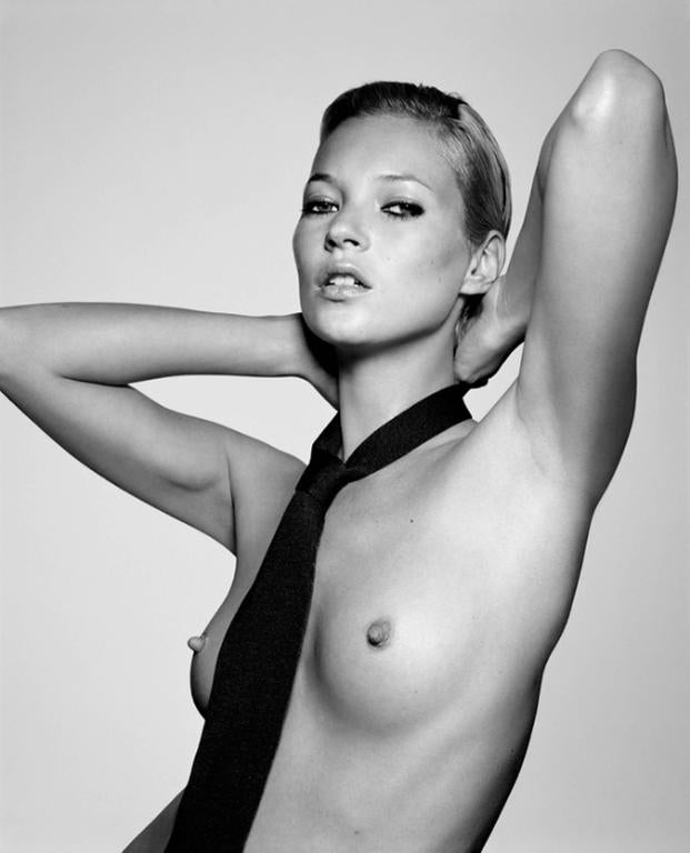 Rankin - Kate Moss with Tie 1