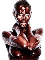 Heidi Klum Chocolate (Eyes closed)