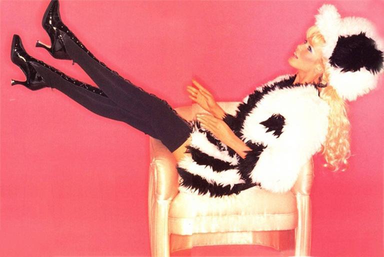 Claudia Schiffer as Barbie