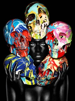 Painted Skulls / Eyes open