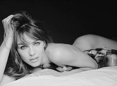 Elizabeth Hurley - nude portrait of the British model and actress
