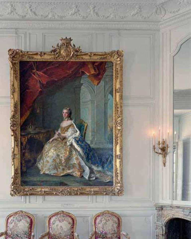 Louise-Elisabeth de France by Jean-Marc Nattier–  Chateau de Versailles
