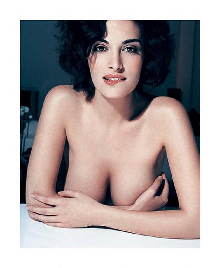 Bruno Bisang Portrait Photograph - Sonia Aquino, Milan - nude portrait of the model